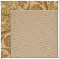 Capel Rugs Creative Concepts Cane Wicker - Cayo Vista Sand (710) Octagon 8