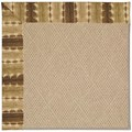 Capel Rugs Creative Concepts Cane Wicker - Java Journey Chestnut (750) Octagon 8