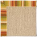Capel Rugs Creative Concepts Cane Wicker - Kalani Samba (224) Octagon 10