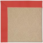 Capel Rugs Creative Concepts Cane Wicker - Canvas Paprika (517) Octagon 10' x 10' Area Rug