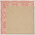 Capel Rugs Creative Concepts Cane Wicker - Imogen Cherry (520) Octagon 10