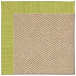 Capel Rugs Creative Concepts Cane Wicker - Vierra Kiwi (228) Octagon 12' x 12' Area Rug
