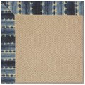 Capel Rugs Creative Concepts Cane Wicker - Java Journey Indigo (460) Octagon 12