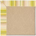 Capel Rugs Creative Concepts Cane Wicker - Kalani Coconut (615) Octagon 12