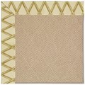 Capel Rugs Creative Concepts Cane Wicker - Bamboo Rattan (706) Octagon 12