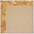 Capel Rugs Creative Concepts Cane Wicker - Tuscan Vine Adobe (830) Octagon 12