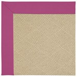"Capel Rugs Creative Concepts Cane Wicker - Canvas Hot Pink (515) Runner 2' 6"" x 8' Area Rug"