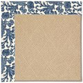 Capel Rugs Creative Concepts Cane Wicker - Batik Indigo (415) Runner 2