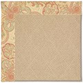 Capel Rugs Creative Concepts Cane Wicker - Paddock Shawl Persimmon (810) Runner 2