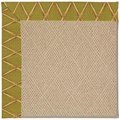 Capel Rugs Creative Concepts Cane Wicker - Bamboo Tea Leaf (236) Rectangle 3