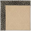 Capel Rugs Creative Concepts Cane Wicker - Wild Thing Onyx (396) Rectangle 3