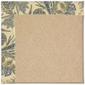 Capel Rugs Creative Concepts Cane Wicker - Cayo Vista Ocean (425) Rectangle 4