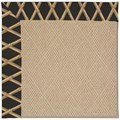 Capel Rugs Creative Concepts Cane Wicker - Bamboo Coal (356) Rectangle 6