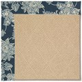 Capel Rugs Creative Concepts Cane Wicker - Bandana Indigo (465) Rectangle 6