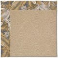 Capel Rugs Creative Concepts Cane Wicker - Bahamian Breeze Ocean (420) Rectangle 7