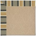 Capel Rugs Creative Concepts Cane Wicker - Long Hill Ebony (340) Rectangle 8