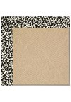 Capel Rugs Creative Concepts Cane Wicker - Coral Cascade Ebony (385) Rectangle 8' x 8' Area Rug
