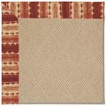 Capel Rugs Creative Concepts Cane Wicker - Java Journey Henna (580) Rectangle 8