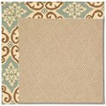 Capel Rugs Creative Concepts Cane Wicker - Shoreham Spray (410) Rectangle 8
