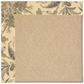 Capel Rugs Creative Concepts Cane Wicker - Cayo Vista Graphic (315) Rectangle 12