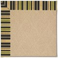 Capel Rugs Creative Concepts Cane Wicker - Vera Cruz Coal (350) Rectangle 12