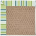 Capel Rugs Creative Concepts Grassy Mountain - Capri Stripe Breeze (430) Octagon 4