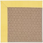 Capel Rugs Creative Concepts Grassy Mountain - Canvas Buttercup (127) Octagon 6' x 6' Area Rug