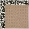 Capel Rugs Creative Concepts Grassy Mountain - Coral Cascade Ebony (385) Octagon 6