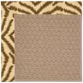 Capel Rugs Creative Concepts Grassy Mountain - Couture King Chestnut (756) Octagon 6