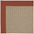 Capel Rugs Creative Concepts Grassy Mountain - Canvas Brick (850) Octagon 6