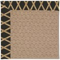 Capel Rugs Creative Concepts Grassy Mountain - Bamboo Coal (356) Octagon 10