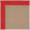 Capel Rugs Creative Concepts Grassy Mountain - Canvas Jockey Red (527) Octagon 10