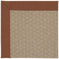 Capel Rugs Creative Concepts Grassy Mountain - Linen Chili (845) Octagon 10