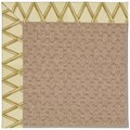 Capel Rugs Creative Concepts Grassy Mountain - Bamboo Rattan (706) Octagon 12