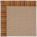 Capel Rugs Creative Concepts Grassy Mountain - Tuscan Stripe Adobe (825) Rectangle 7