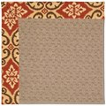 Capel Rugs Creative Concepts Grassy Mountain - Shoreham Brick (800) Rectangle 9