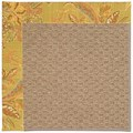 Capel Rugs Creative Concepts Raffia - Cayo Vista Tea Leaf (210) Octagon 6