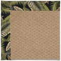 Capel Rugs Creative Concepts Raffia - Bahamian Breeze Coal (325) Octagon 6