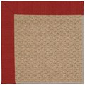 Capel Rugs Creative Concepts Raffia - Canvas Cherry (537) Octagon 6