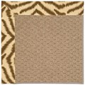Capel Rugs Creative Concepts Raffia - Couture King Chestnut (756) Octagon 6