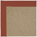 Capel Rugs Creative Concepts Raffia - Canvas Brick (850) Octagon 6