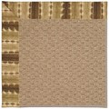 Capel Rugs Creative Concepts Raffia - Java Journey Chestnut (750) Octagon 8