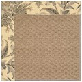 Capel Rugs Creative Concepts Raffia - Cayo Vista Graphic (315) Octagon 10