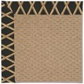 Capel Rugs Creative Concepts Raffia - Bamboo Coal (356) Octagon 10