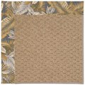 Capel Rugs Creative Concepts Raffia - Bahamian Breeze Ocean (420) Octagon 12