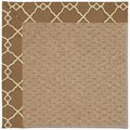Capel Rugs Creative Concepts Raffia - Arden Chocolate (746) Octagon 12