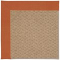 Capel Rugs Creative Concepts Raffia - Canvas Rust (837) Octagon 12