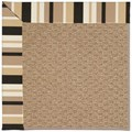 Capel Rugs Creative Concepts Raffia - Granite Stripe (335) Rectangle 4
