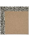 Capel Rugs Creative Concepts Raffia - Coral Cascade Ebony (385) Rectangle 5' x 8' Area Rug
