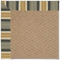 Capel Rugs Creative Concepts Raffia - Long Hill Ebony (340) Rectangle 8
